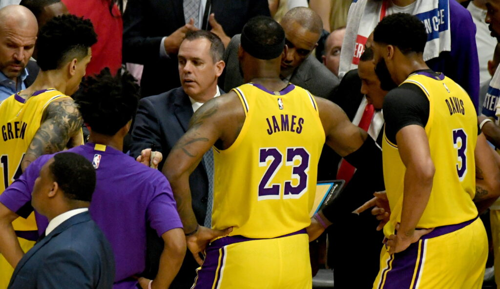 Coach Frank Vogel, Los Angeles Lakers vs L.A. Clippers