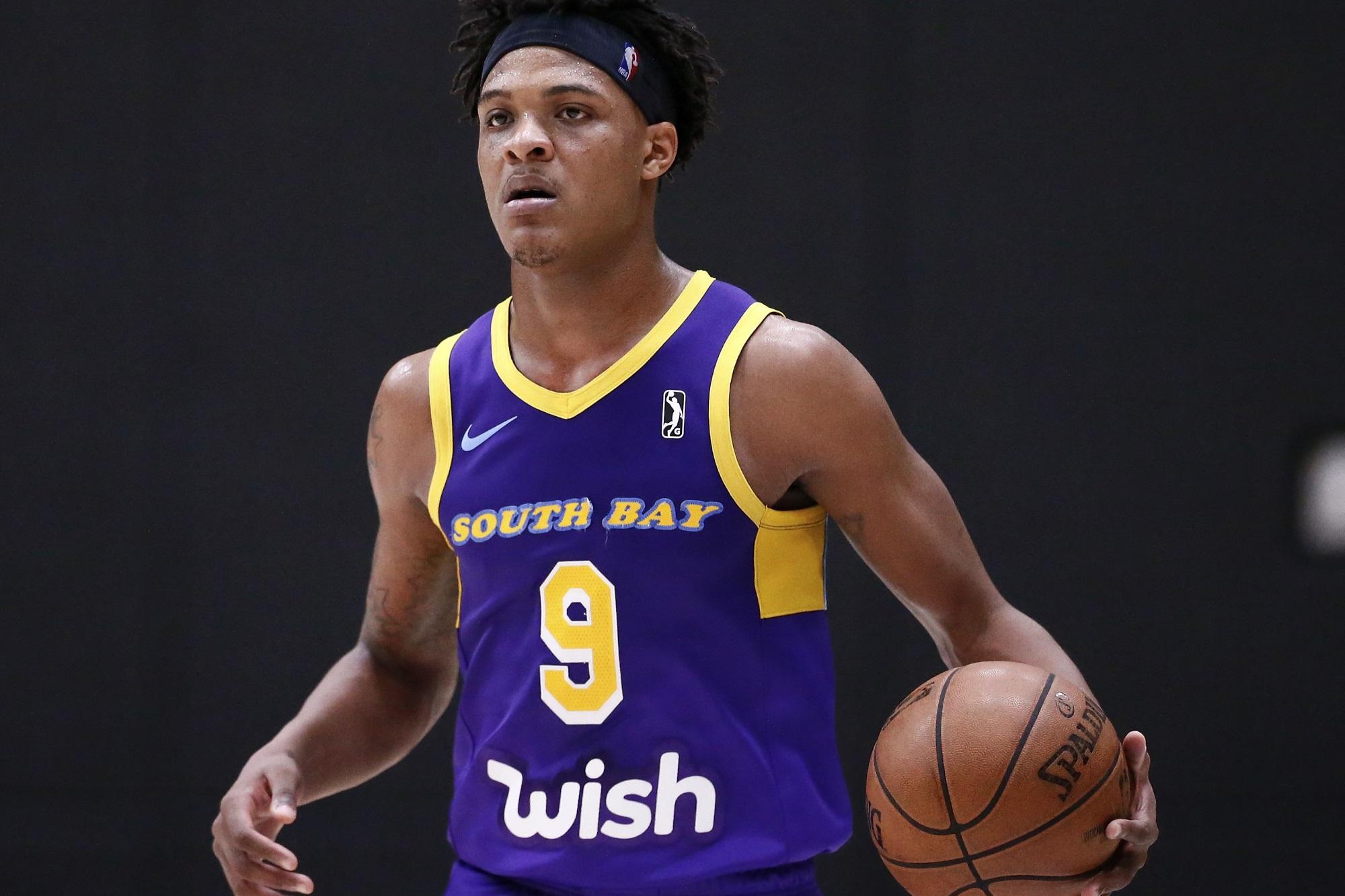 Jemerrio Jones, South Bay Lakers