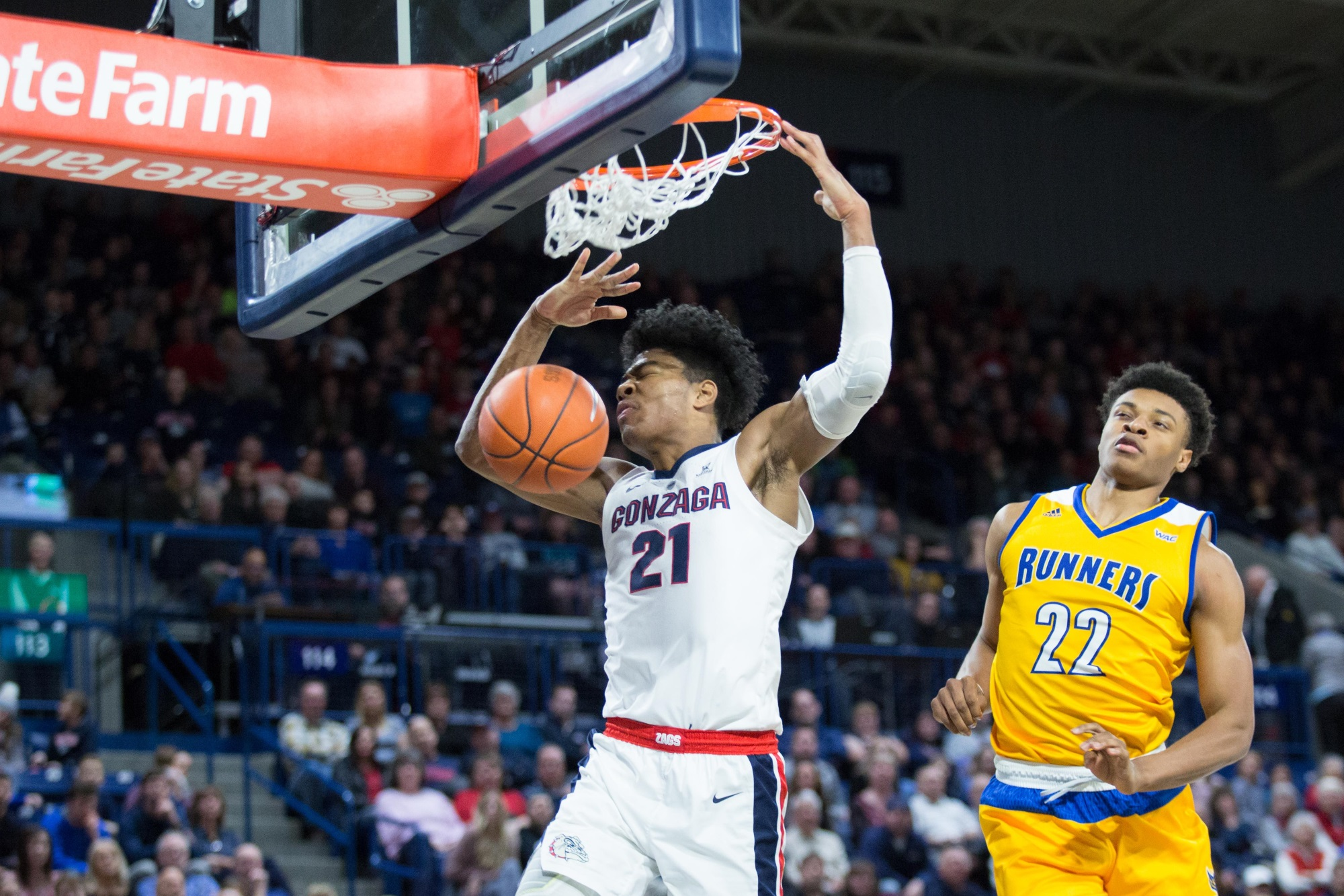 Rui Hachimura, Gonzaga vs CSU Bakersfield at the McCarthey Athletic Center
