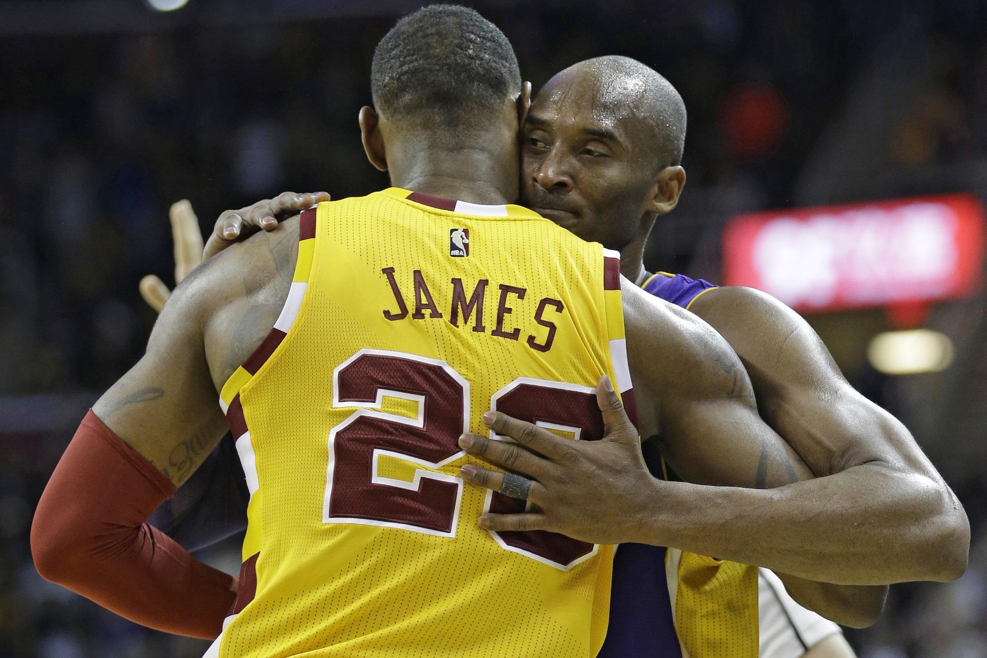 Kobe Bryant and LeBron James