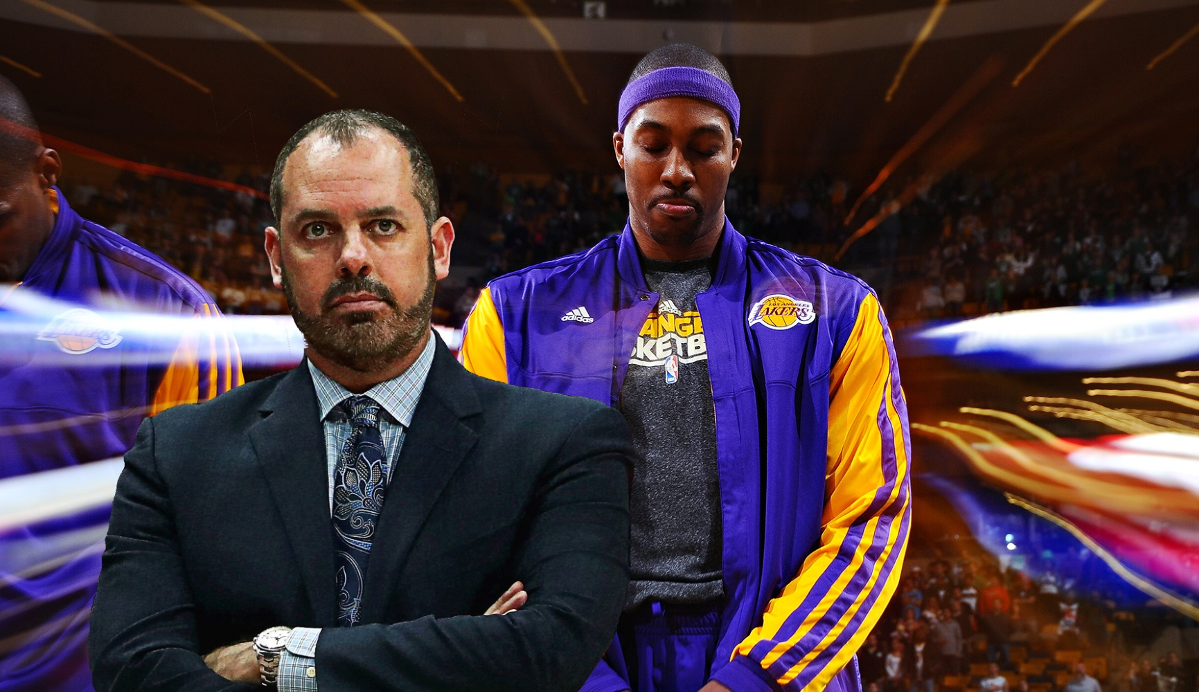 Frank Vogel and Dwight Howard