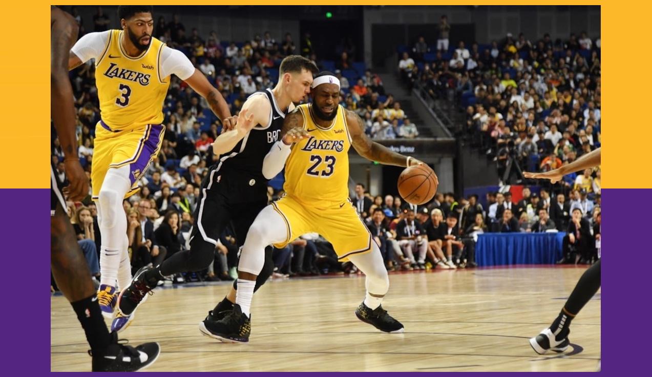 LeBron James, Los Angeles Lakers vs Brooklyn Nets
