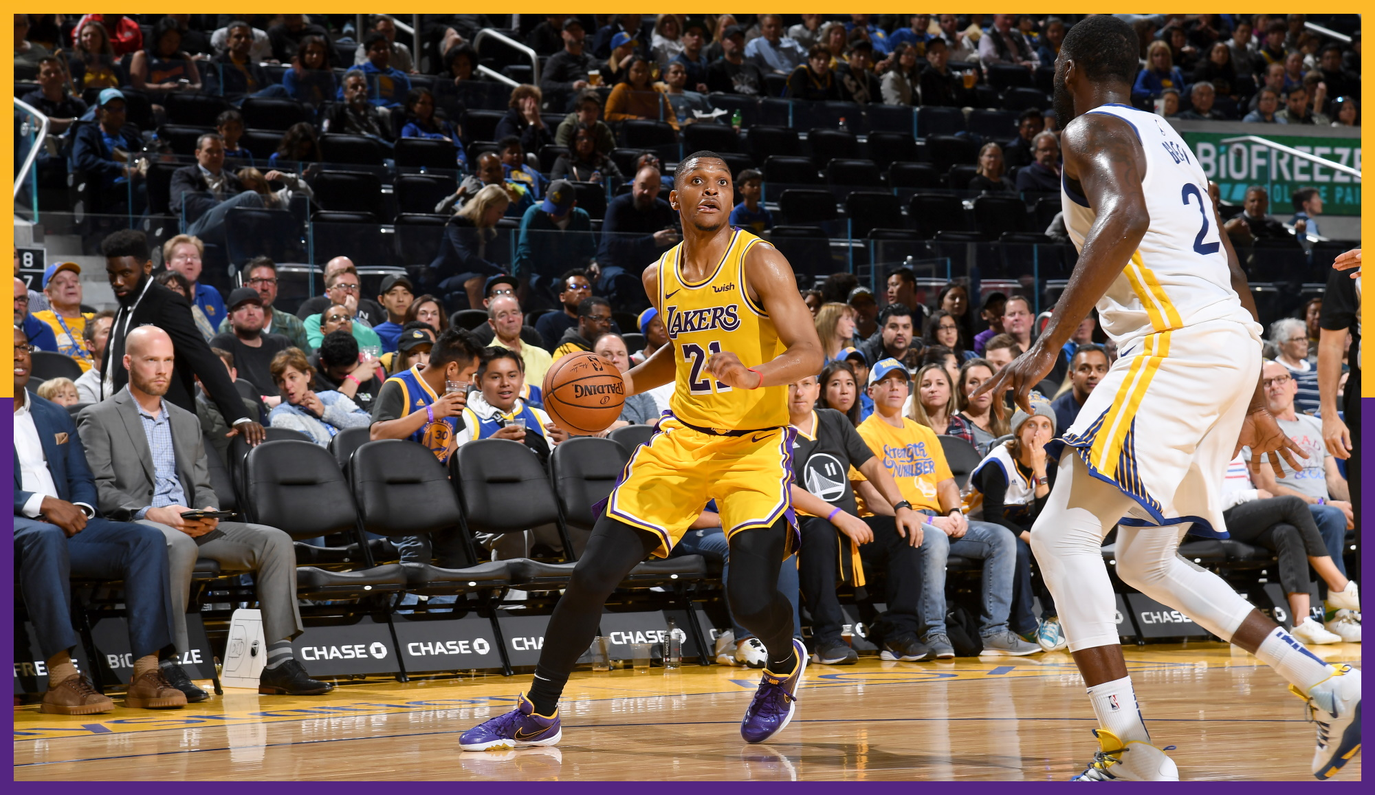 Zach Norvell Jr., Los Angeles Lakers vs Golden State Warriors