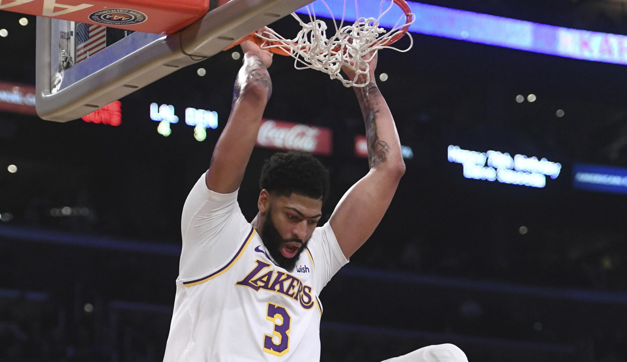 Anthony Davis, Los Angeles Lakers Denver Nuggets
