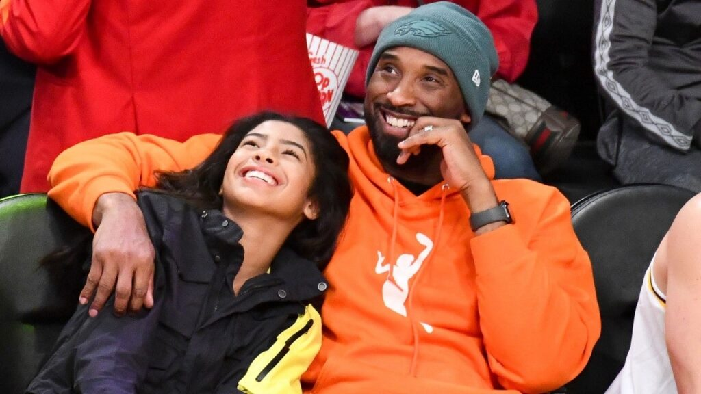 Kobe Bryant and his daughter Gianna Maria-Onore