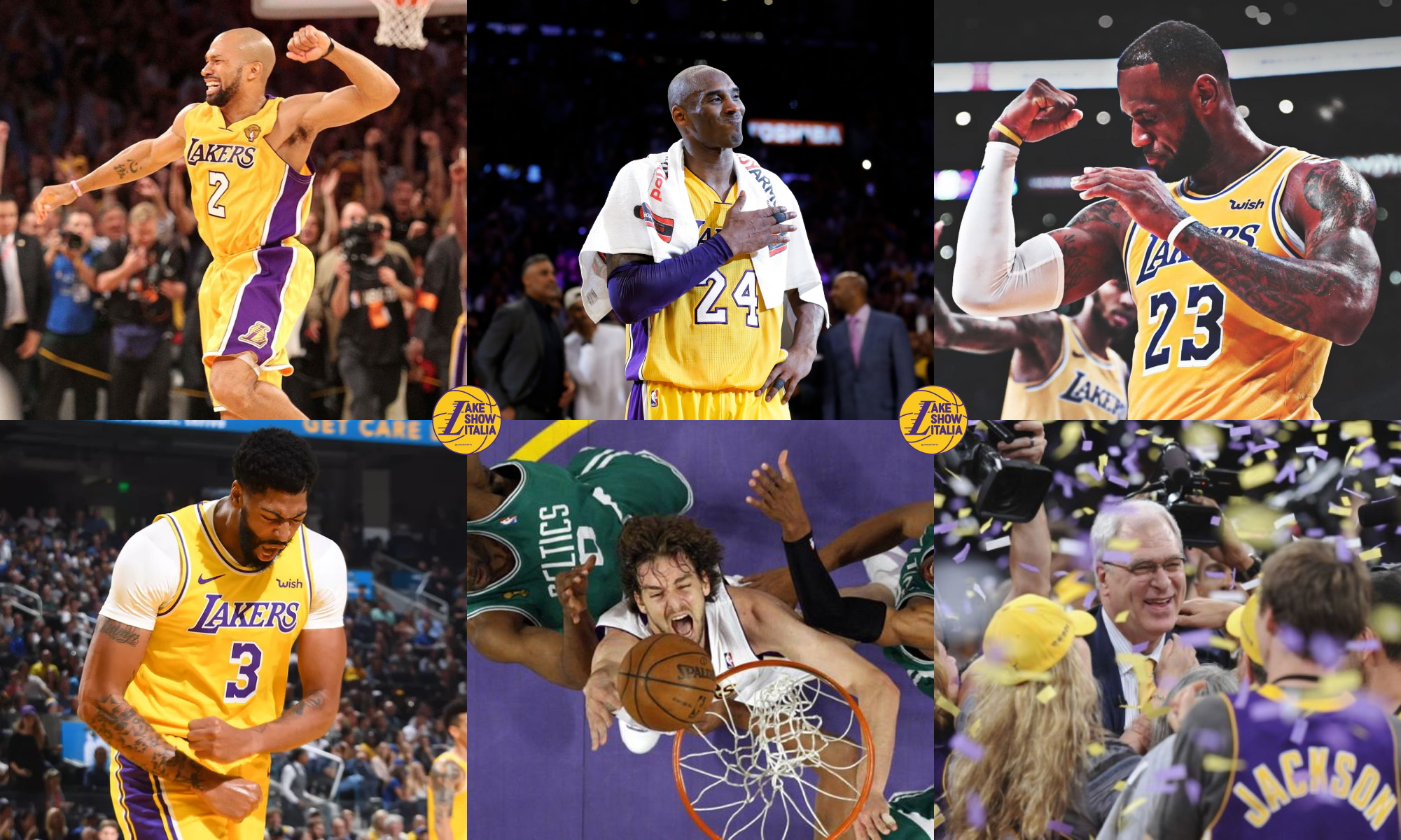 2010s All-Decade Top Lakers Team
