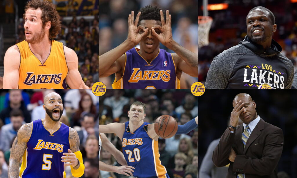 2010s All-Decade Worst Lakers Team