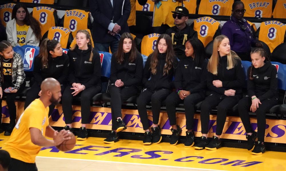 Members of Kobe Bryant's Mamba Academy