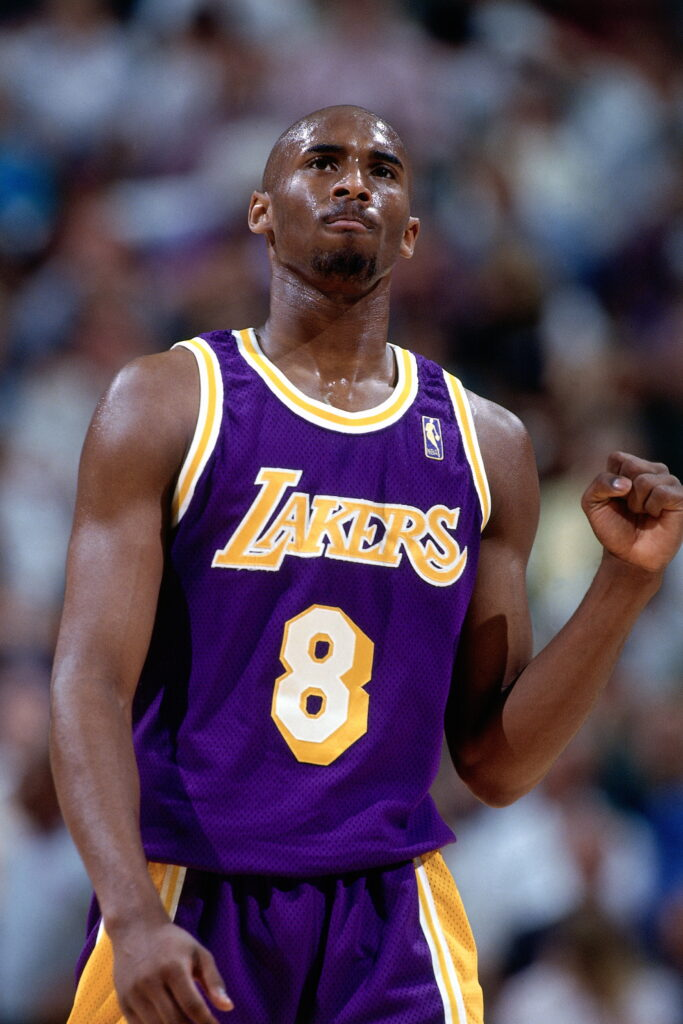 Kobe Bryant, Los Angeles Lakers vs Utah Jazz, Game Five and Round Two of the 1997 NBA Western Conference Playoffs at the Delta Center in Salt Lake City on May 12, 1997