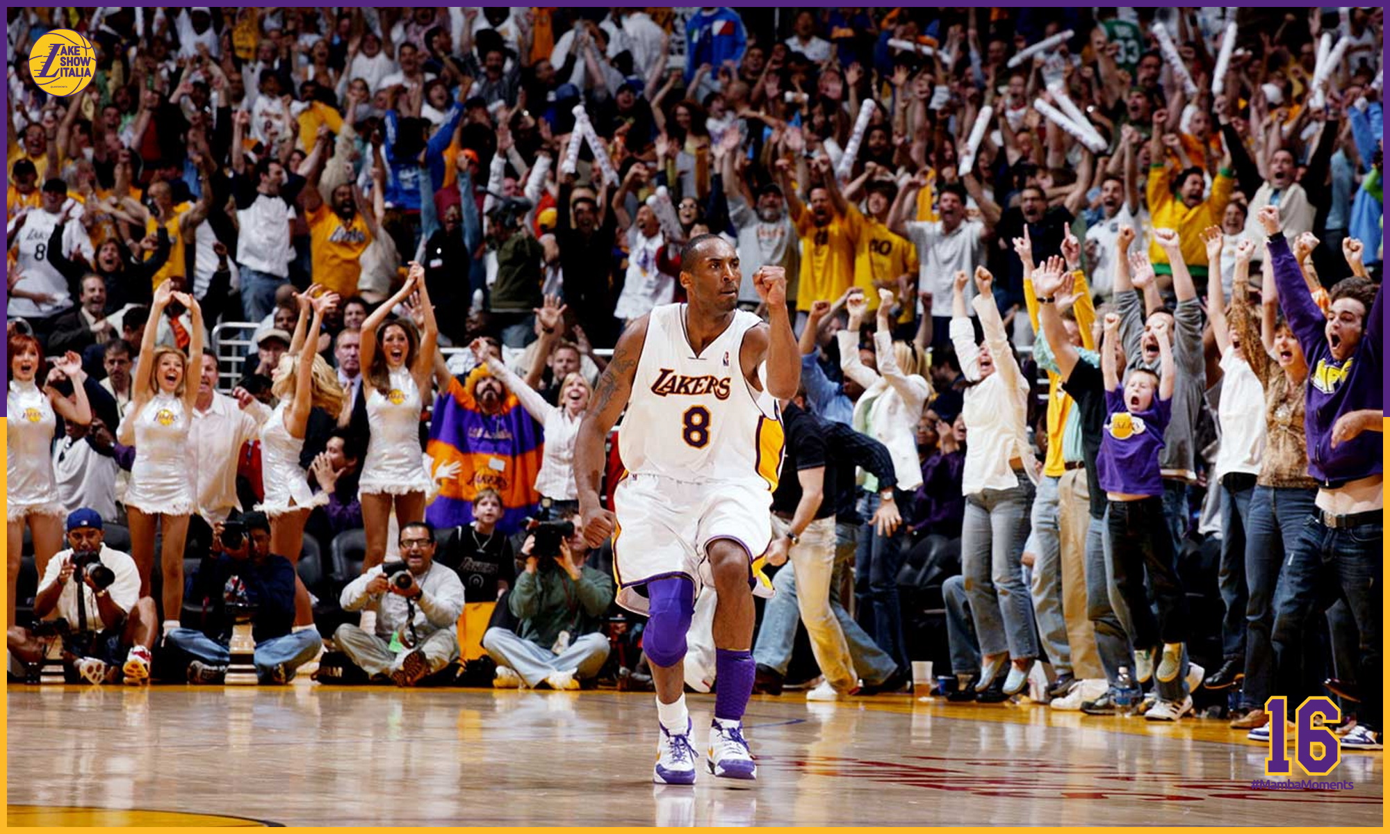 Kobe Bryant, Los Angeles Lakers vs Phoenix Suns at the STAPLES Center on April 30, 2006