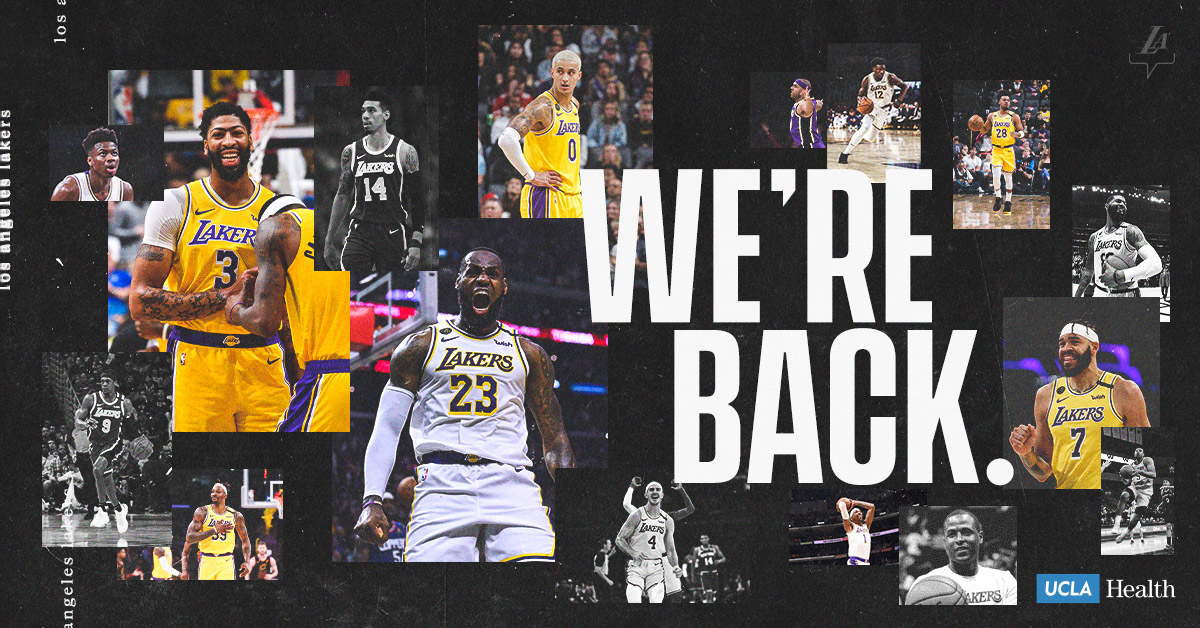 We're back.