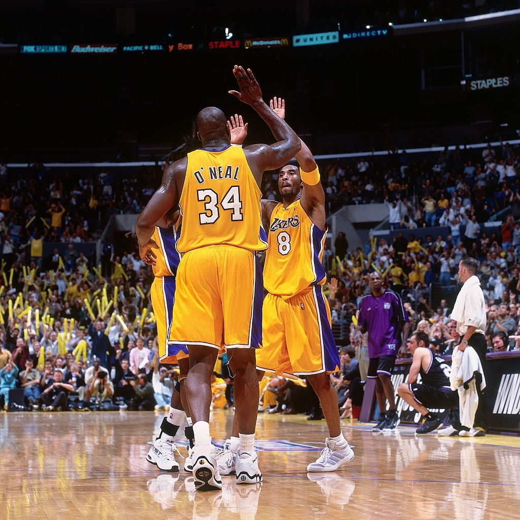 2000.03.12 Lakers vs Kings 03 Kobe Bryant's First 40-Point Game