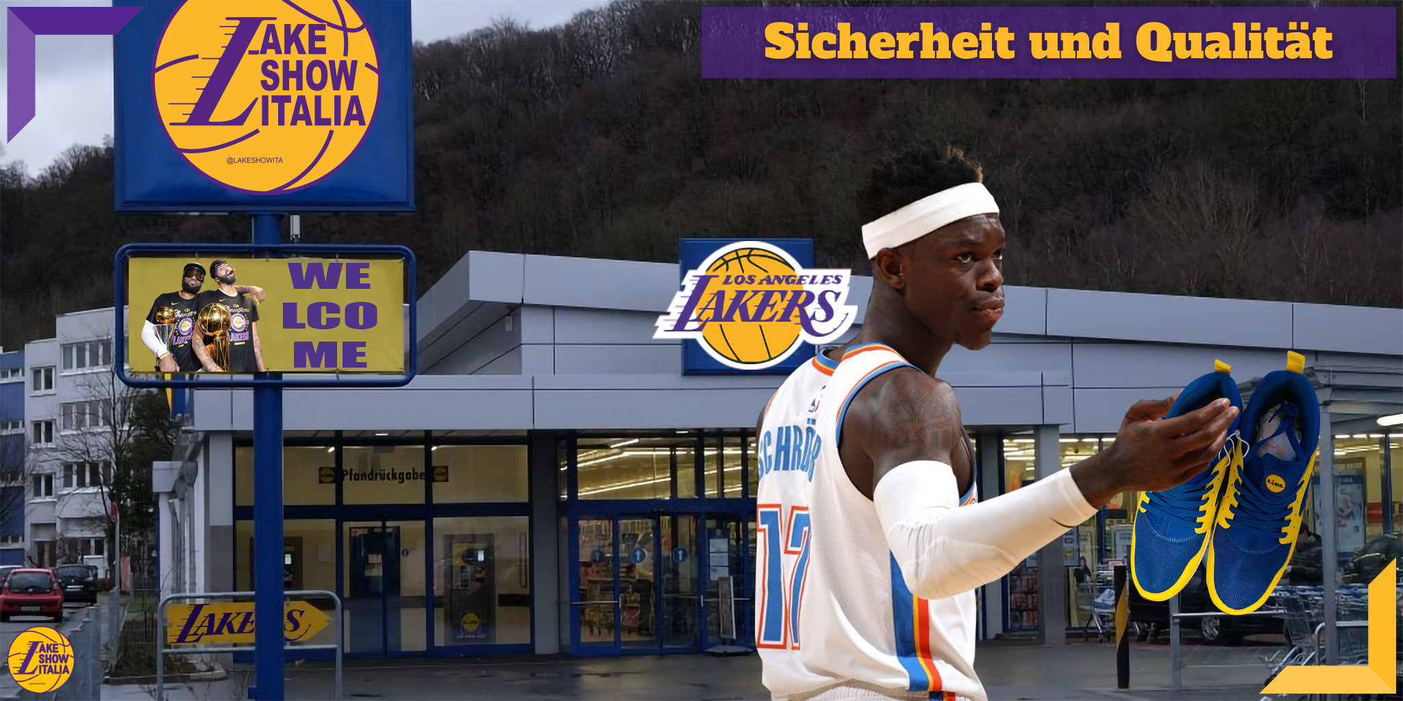 Dennis Schröder ai Los Angeles Lakers