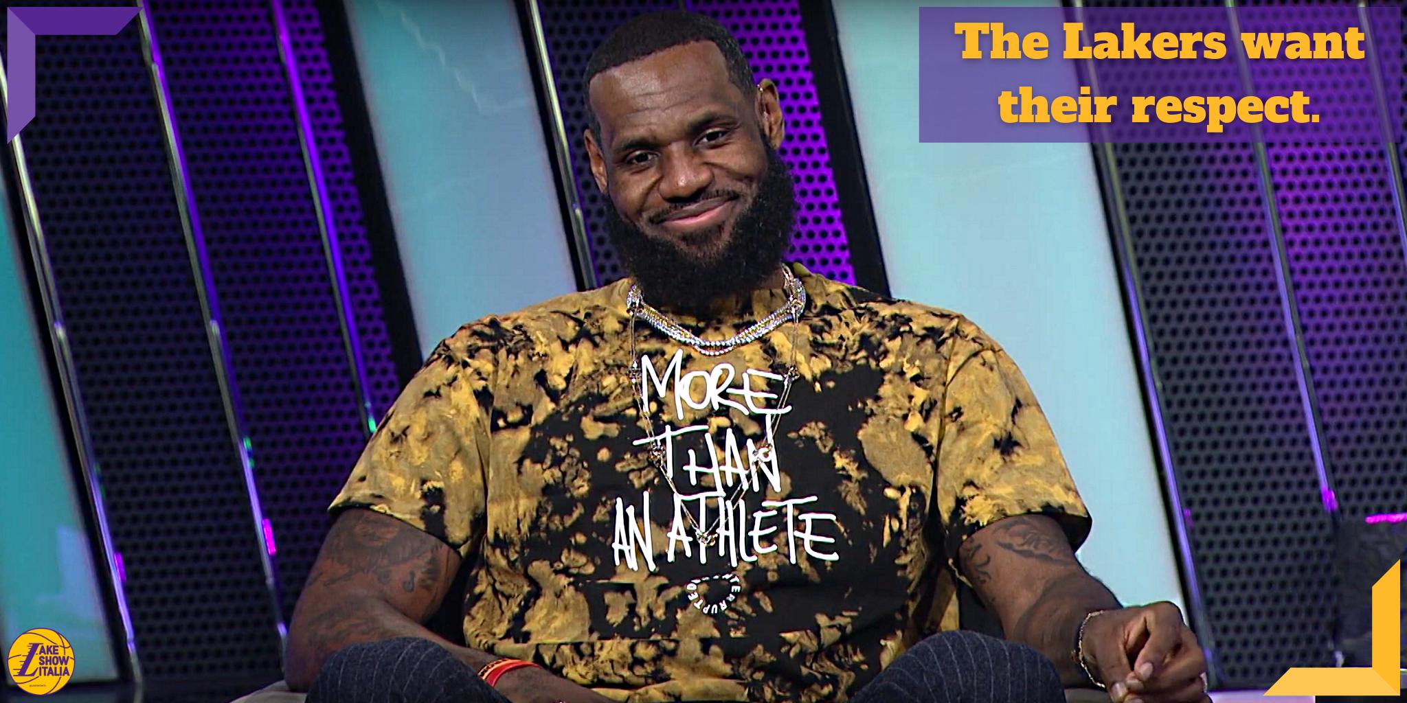 LeBron ha elegiato il front office dei Lakers oltre a parlare di Irving e dei Clippers