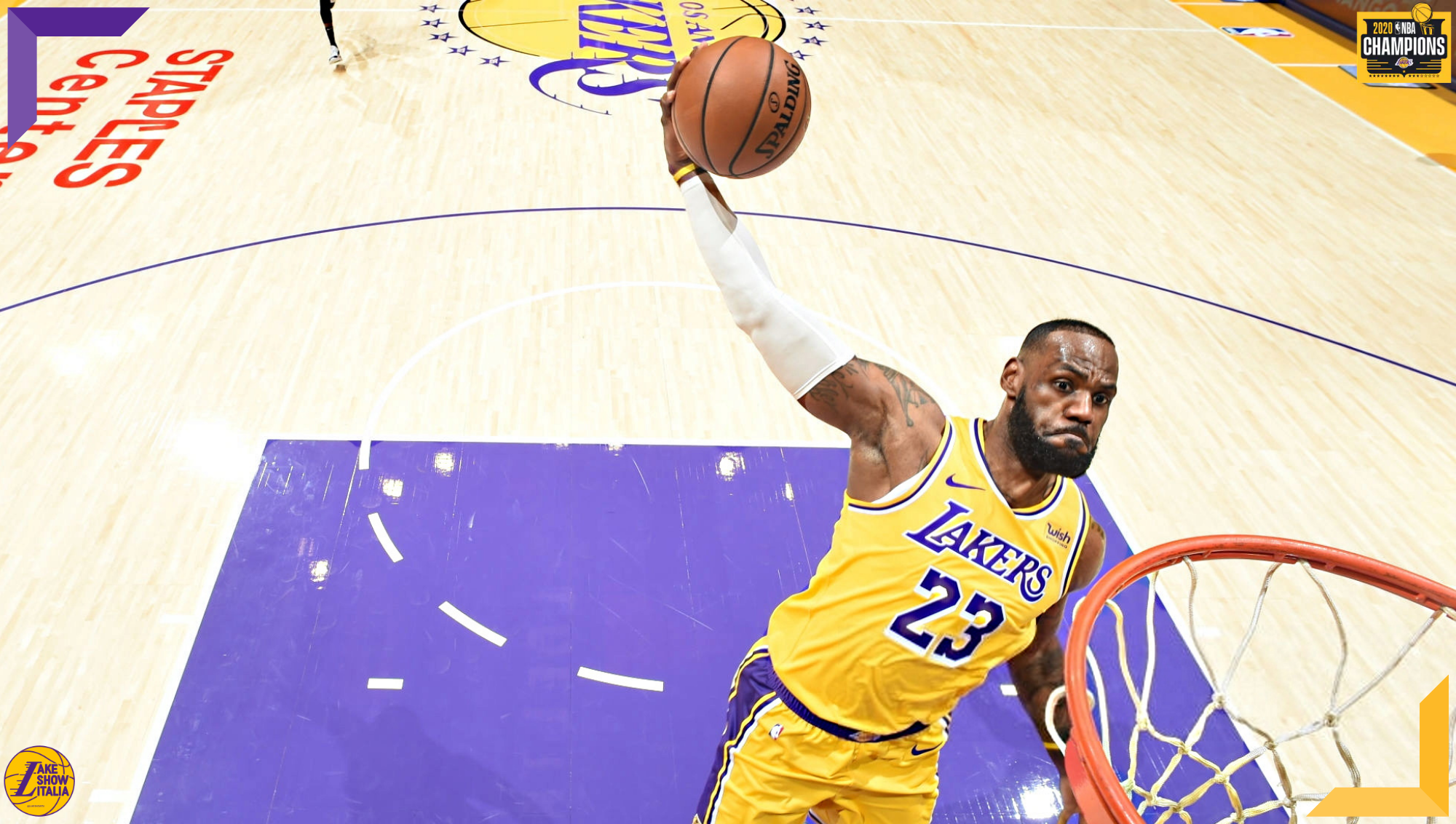 LeBron James, Los Angeles Lakers vs Portland Trail Blazers
