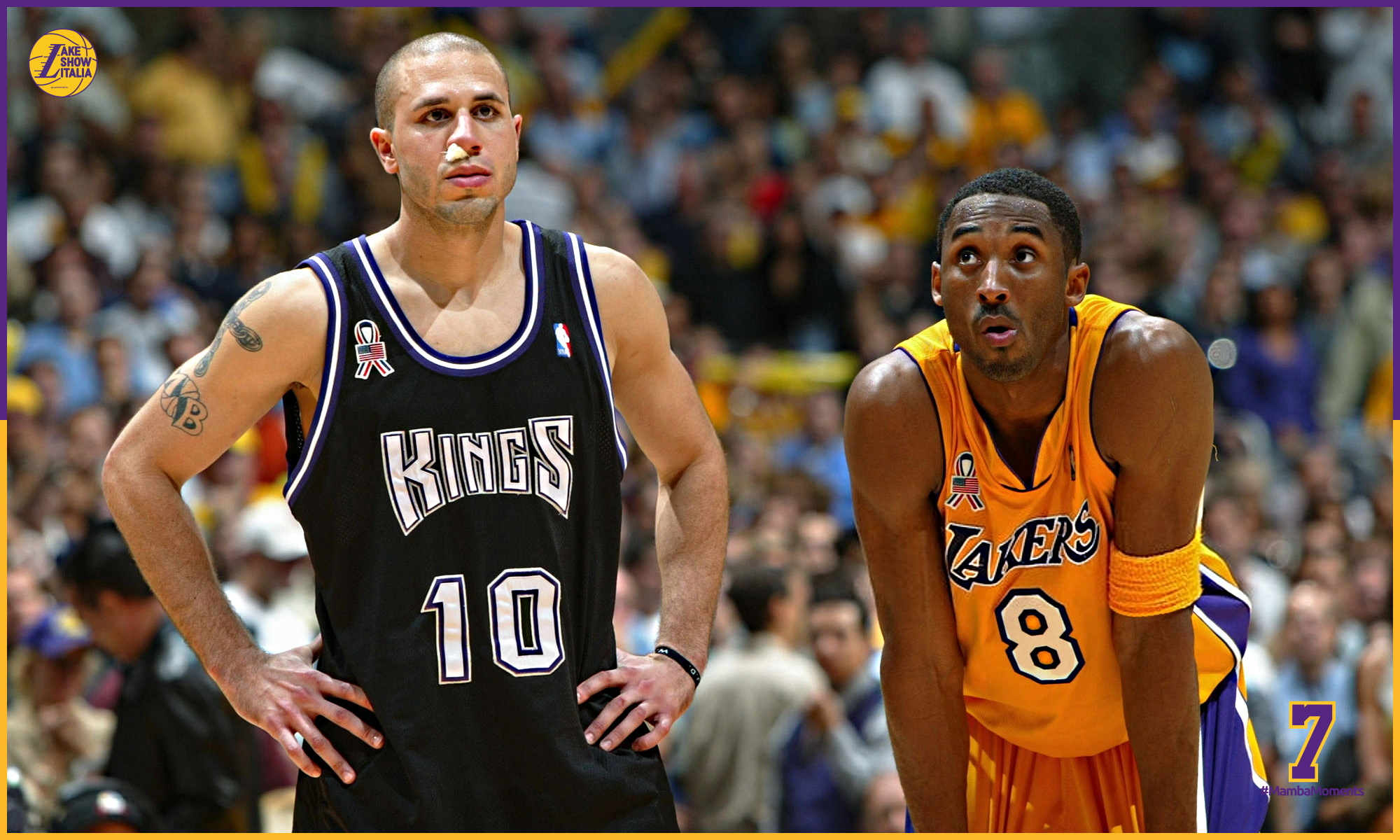Kobe Bryant and Mike Bibby