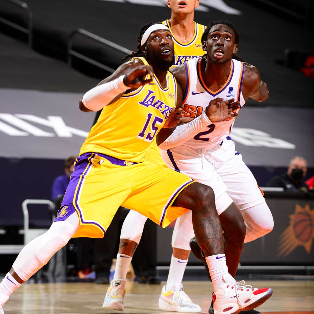 Montezrl Harrell, Los Angeles Lakers vs Phoenix Suns