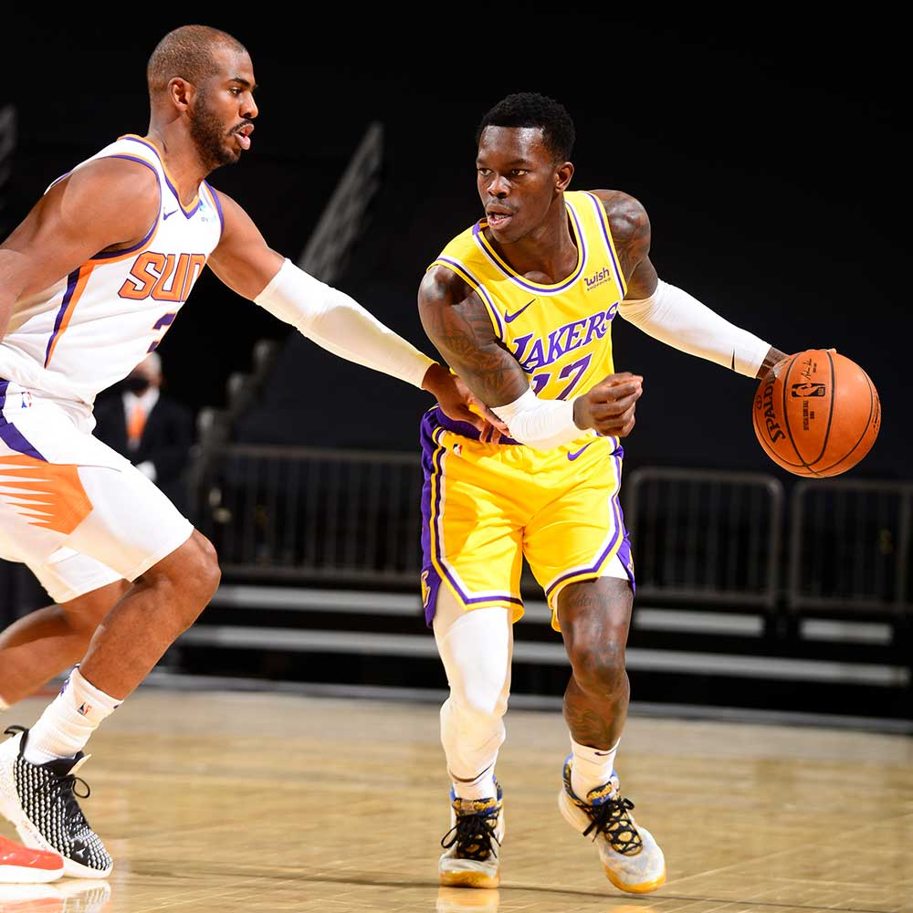 Dennis Schroder, Los Angeles Lakers vs Phoenix Suns