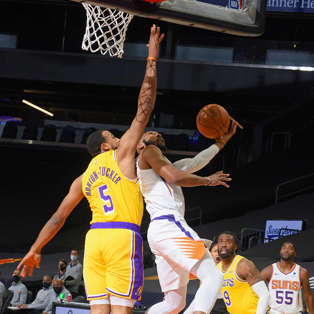Talen Horton-Tucker, Los Angeles Lakers vs Phoenix Suns