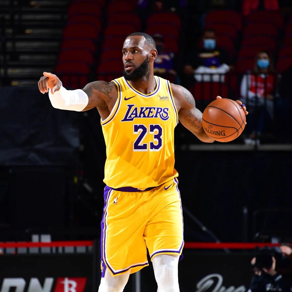 LeBron James, Los Angeles Lakers vs Houston Rockets