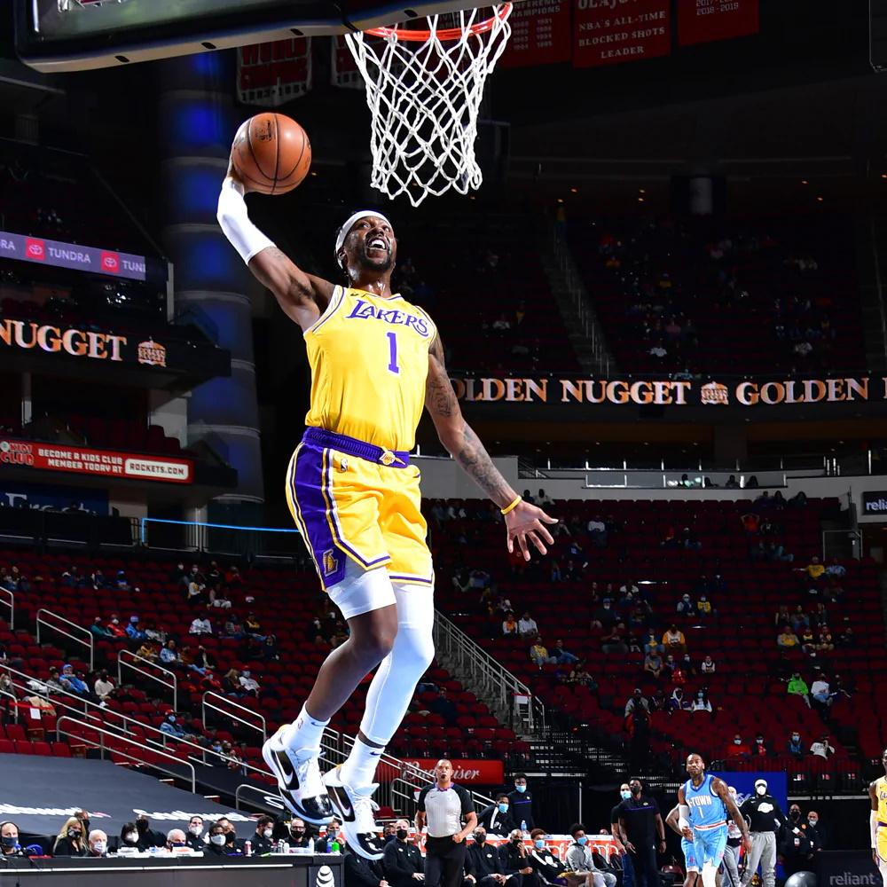 Kentavious Caldwell-Pope, Los Angeles Lakers vs Houston Rockets