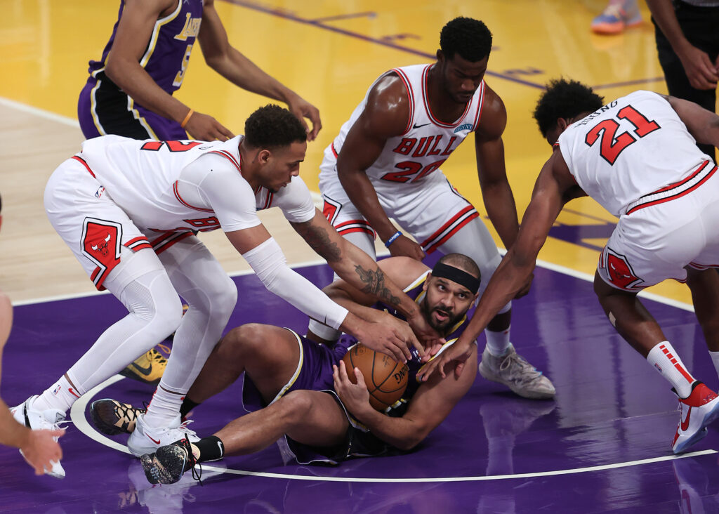 Jared Dudley, Los Angeles Lakers vs Chicago Bulls