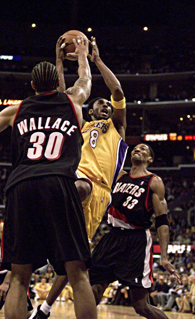 Kobe Bryant, Scottie Pippen and Rasheed Wallace