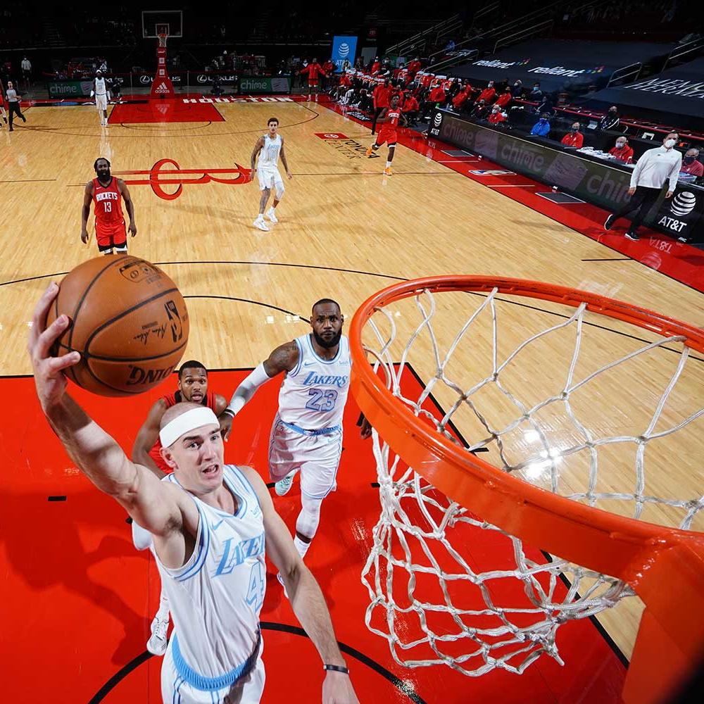 Alex Caruso, Los Angeles Lakers vs Houston Rockets