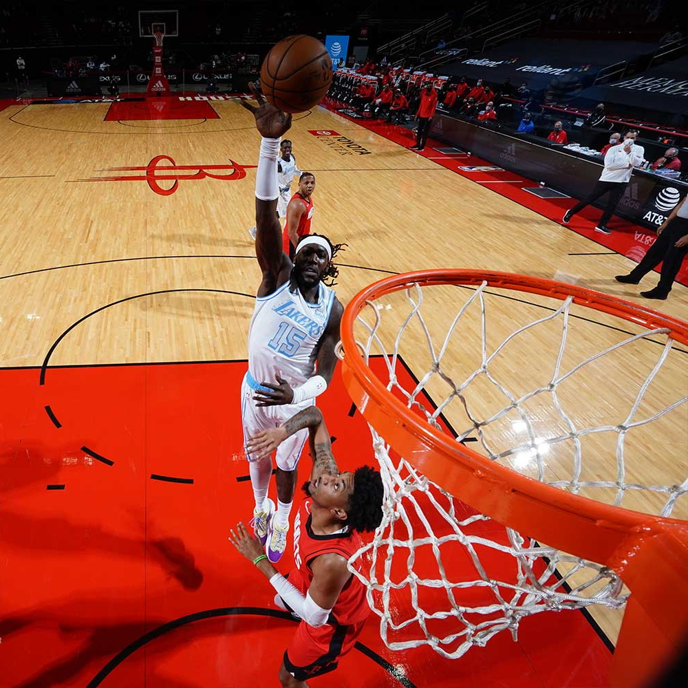 Montrezl Harrell, Los Angeles Lakers vs Houston Rockets