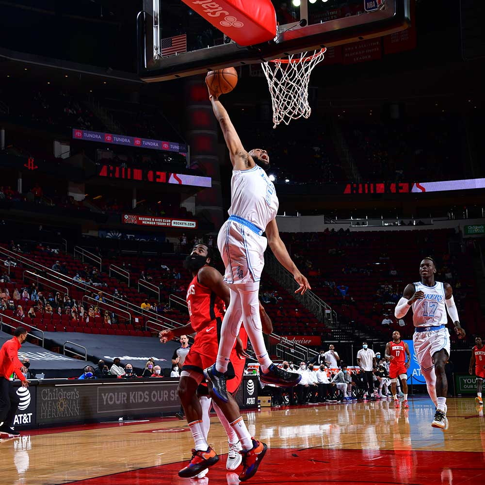 Talen Horton-Tucker, Los Angeles Lakers vs Houston Rockets