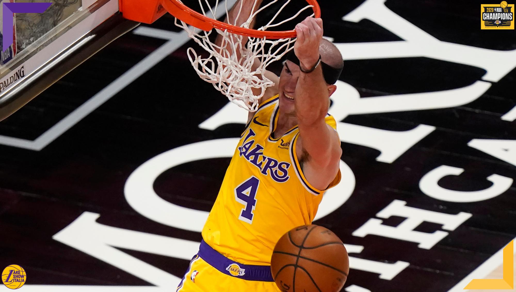 Alex Caruso, Los Angeles Lakers vs Atlanta Hawks