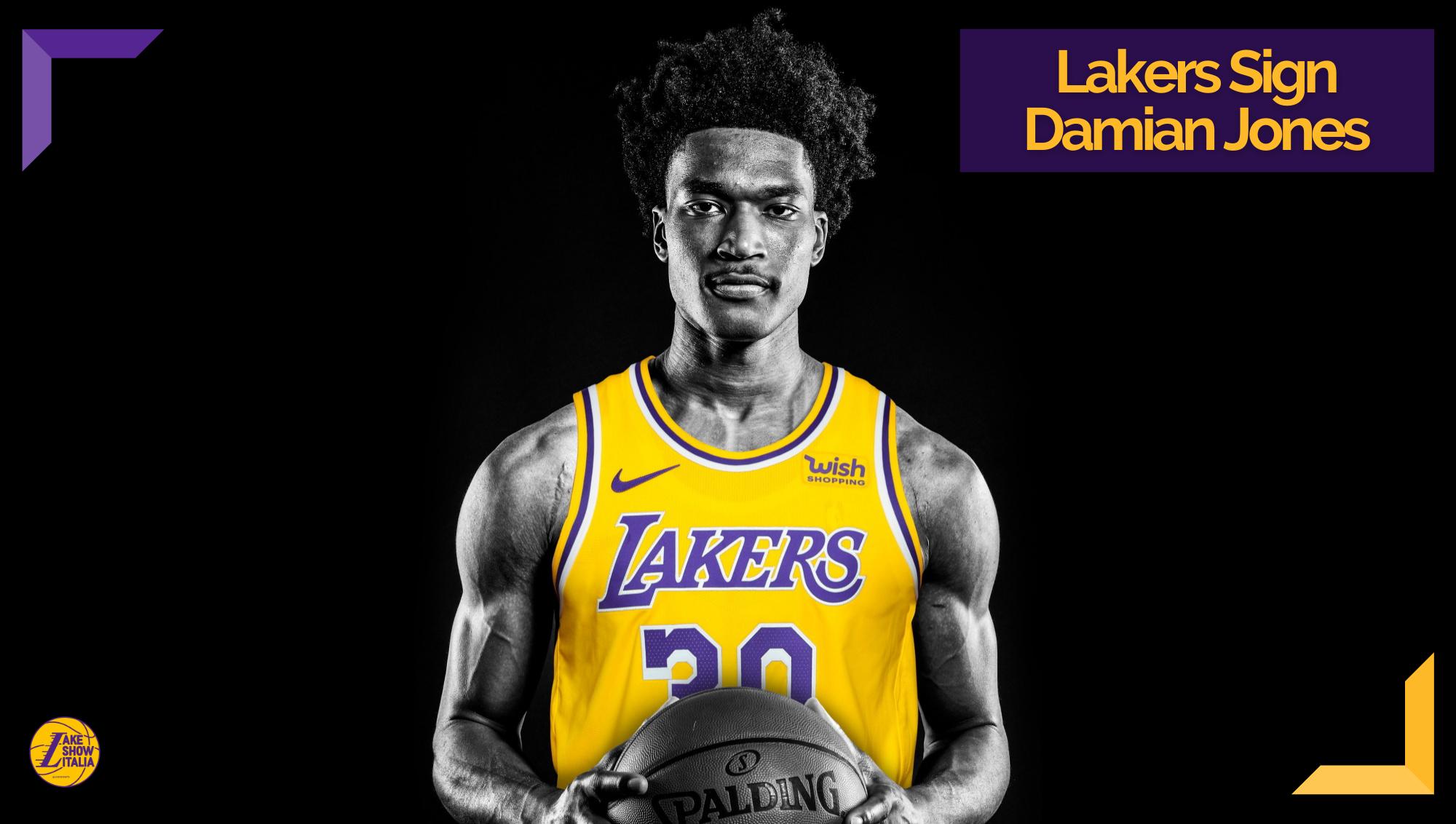 Rob Pelinka ha annunciato la firma di Damian Jones. Il centro ex Warriors ha accettato il contratto decadale offerto dai Los Angeles Lakers.