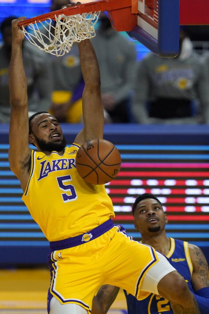 Talen Horton-Tucker, Los Angeles Lakers vs Golden State Warriors
