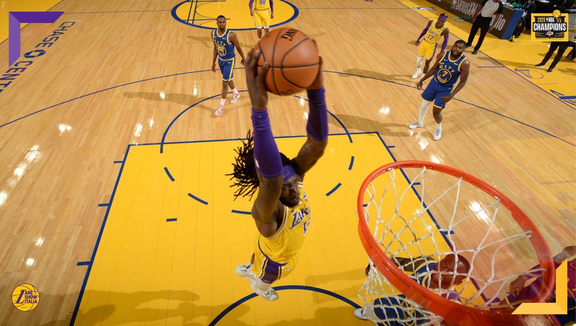 Montrezl Harrell, Los Angeles Lakers vs Golden State Warriors