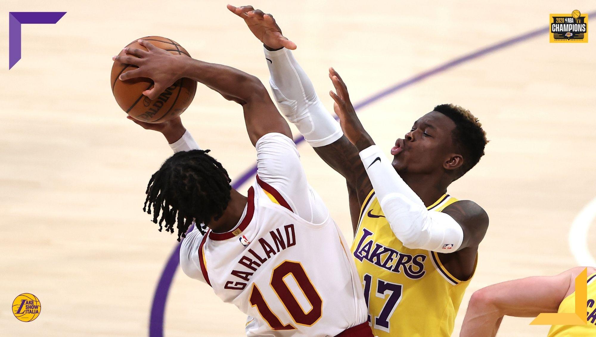 I Los Angeles Lakers ritrovano il sorriso tornando al successo contro i Cleveland Cavs. Ottime prove per Dennis Schröder e Montrezl Harrell.