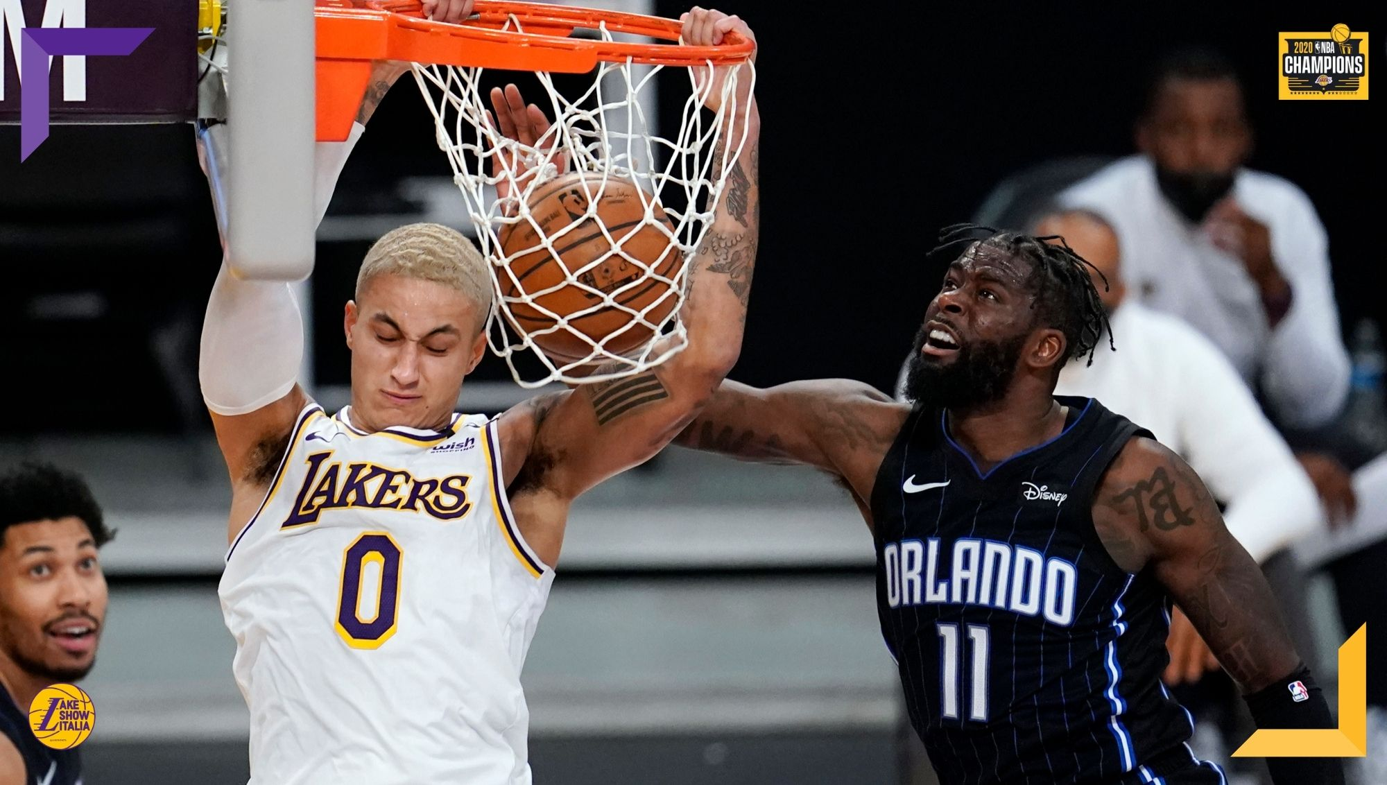 Seconda vittoria per i Los Angeles Lakers, che battono soffrendo gli Orlando Magic. Discreta prova di Schröder, Harrell e Kuzma. Ancora male KCP.