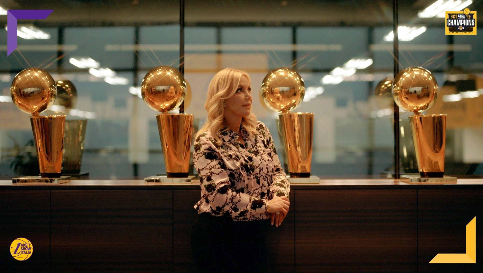 La rivalità con Nets e Clippers, Drummond, gli infortuni di James e Davis. Jeanie Buss a ruota libera sulla stagione dei Los Angeles Lakers.
