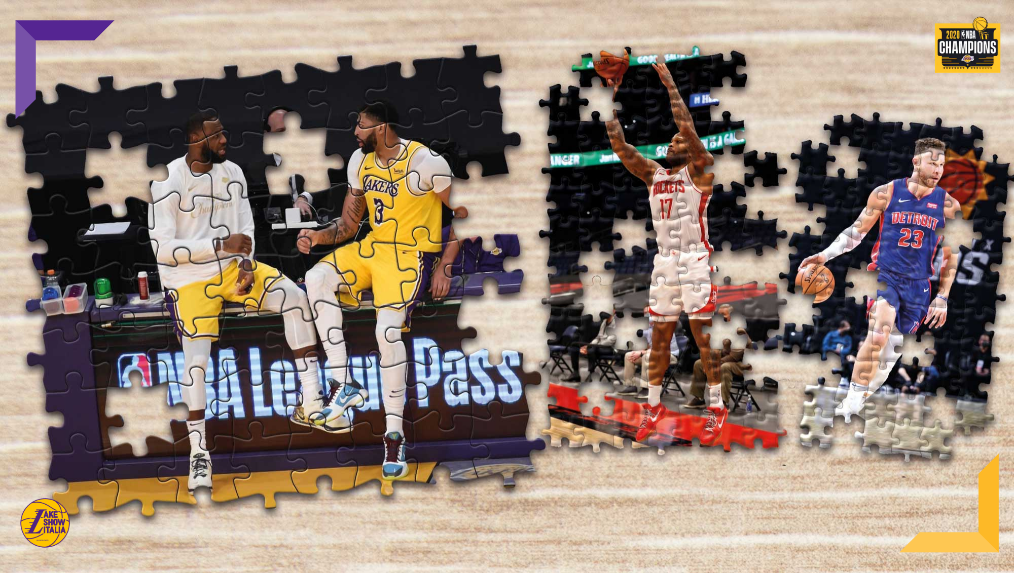 Griffin, P.J. Tucker, Ariza e tanti altri. Scopriamo quali sono i migliori giocatori disponibili per i Los Angeles Lakers alla trade deadline.