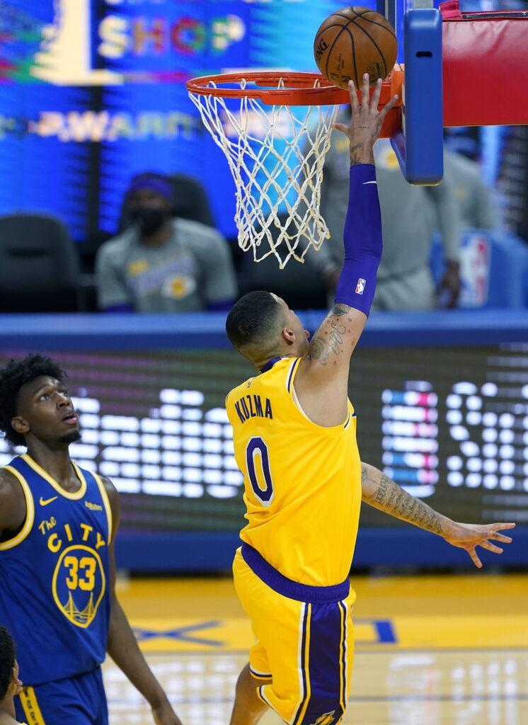 Kyle Kuzma, Los Angeles Lakers vs Golden State Warriors