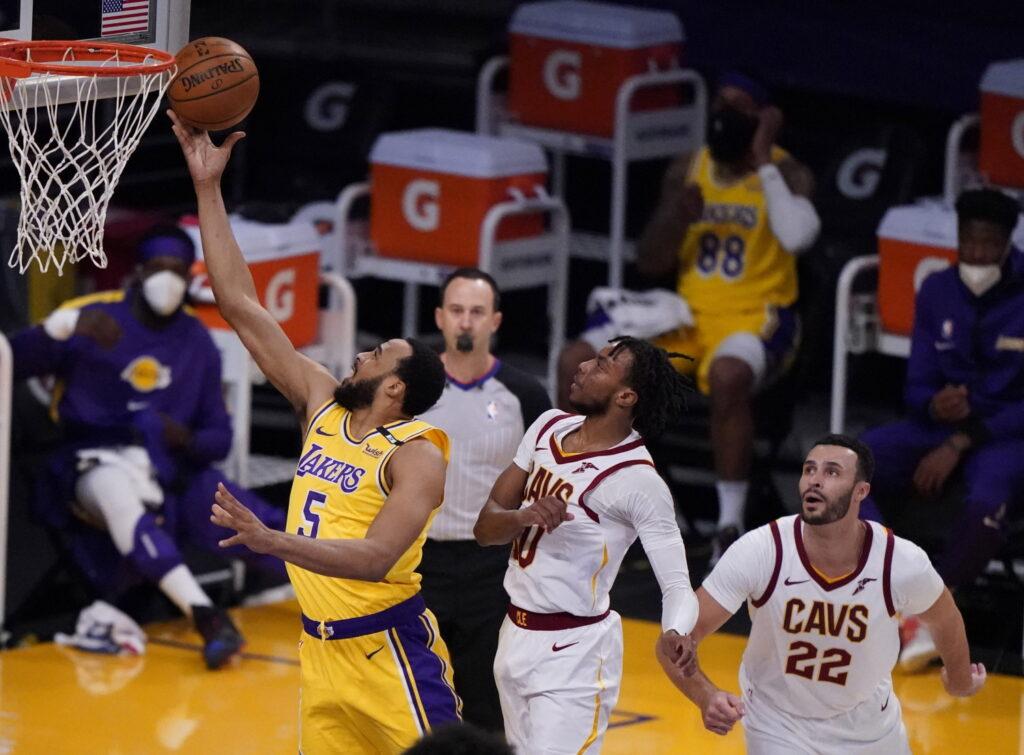 Talen Horton-Tucker, Los Angeles Lakers vs Cleveland Cavaliers