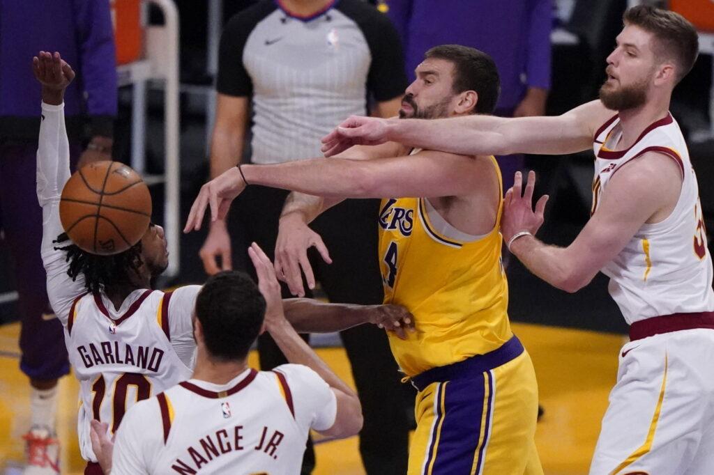 Marc Gasol, Los Angeles Lakers vs Cleveland Cavaliers