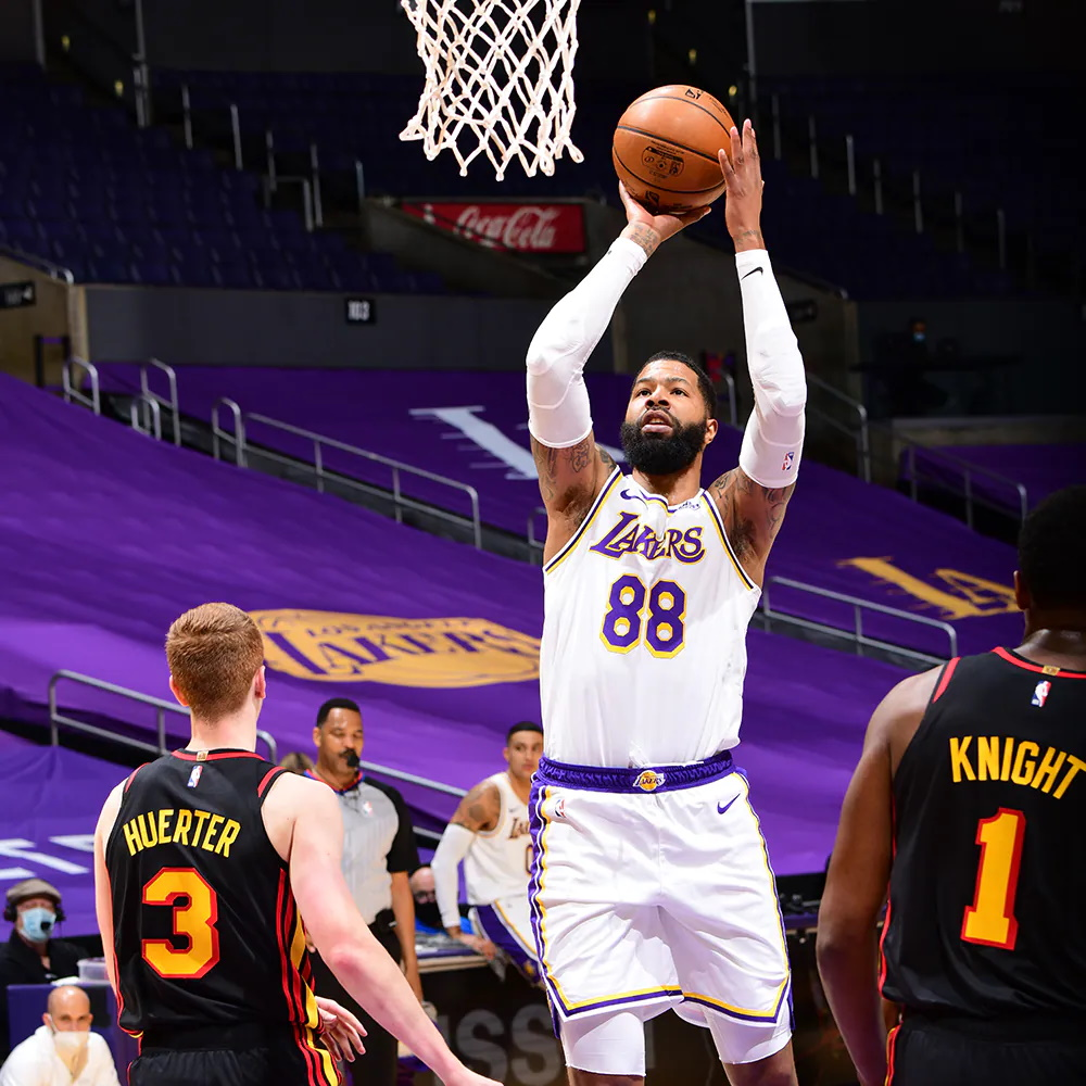Markieff Morris, Los Angeles Lakers vs Atlanta Hawks