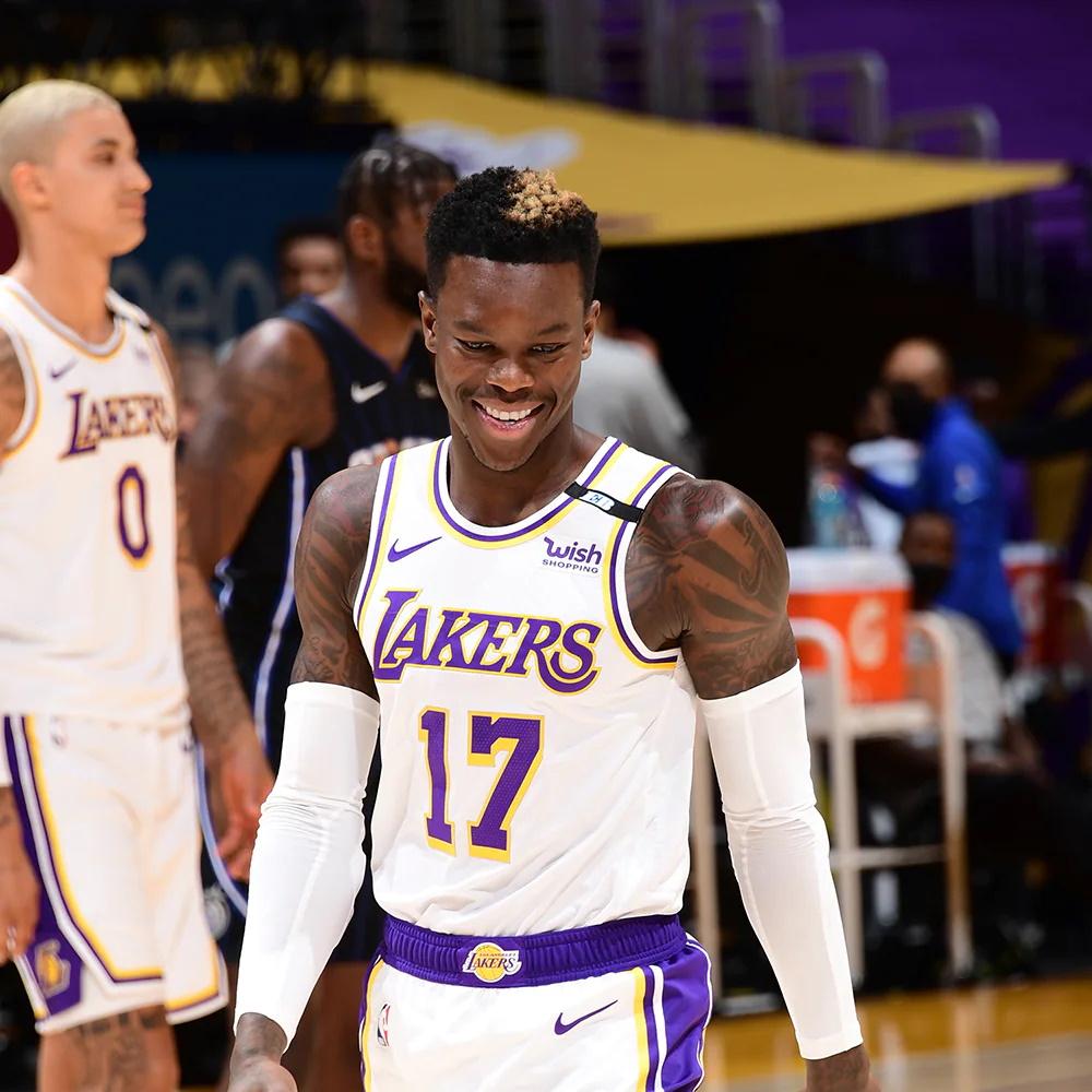 Dennis Schröder, Los Angeles Lakers vs Orlando Magic