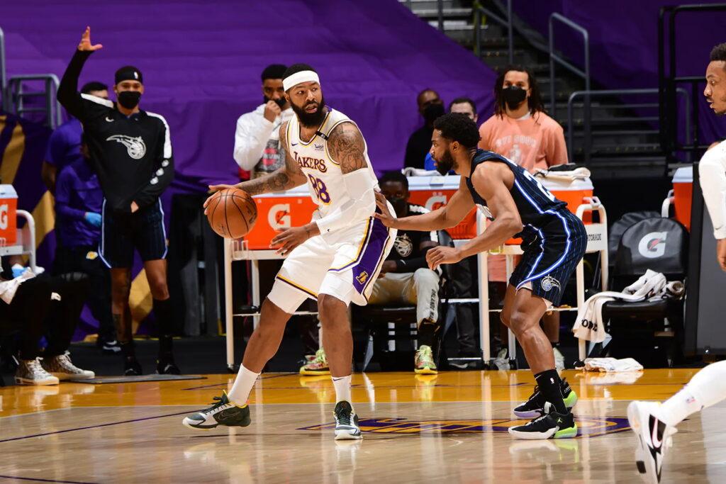 Markieff Morris, Los Angeles Lakers vs Orlando Magic
