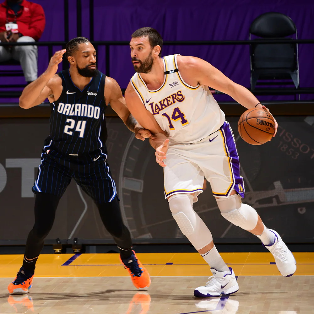 Marc Gasol, Los Angeles Lakers vs Orlando Magic
