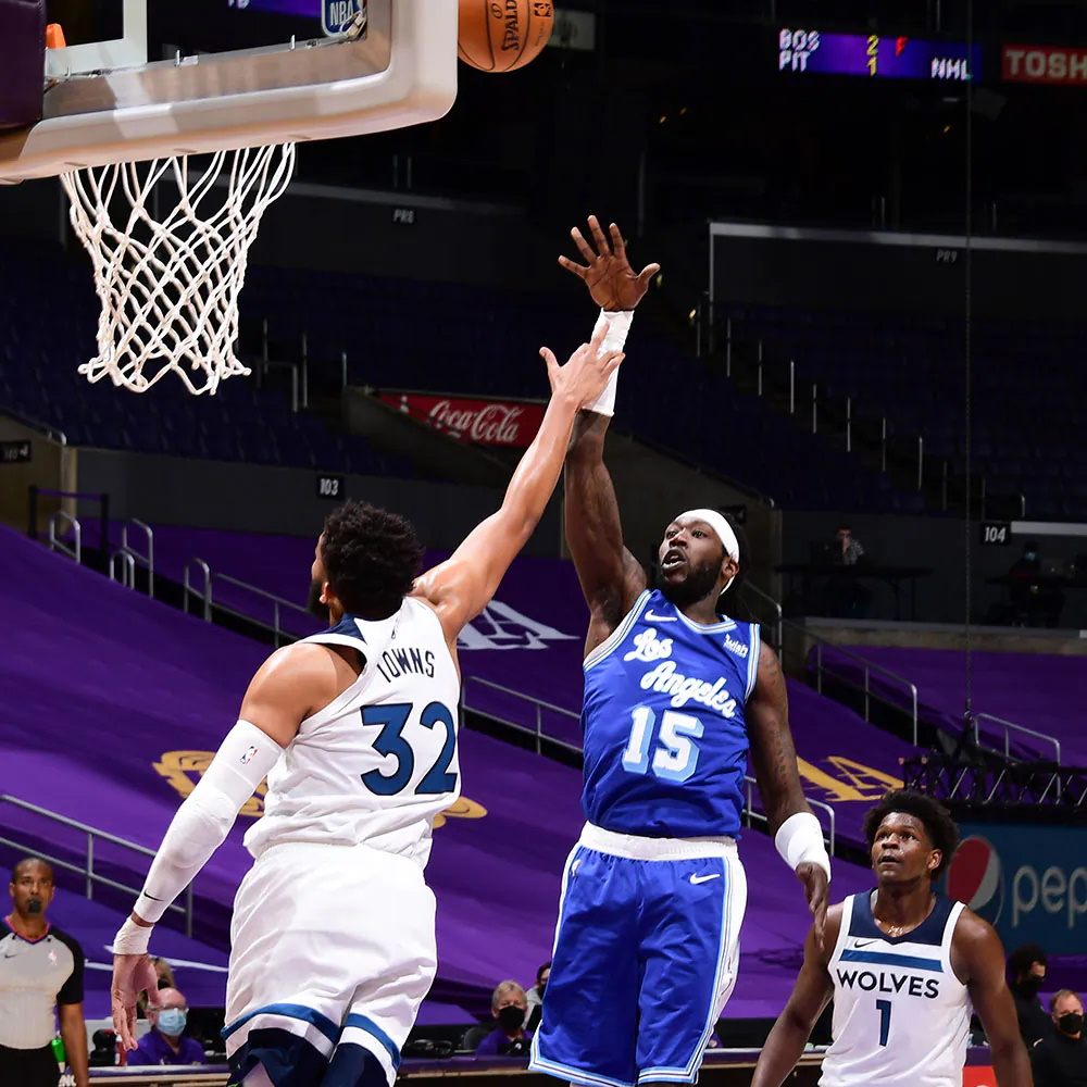Montrezl Harrell, Los Angeles Lakers vs Minnesota Timberwolves
