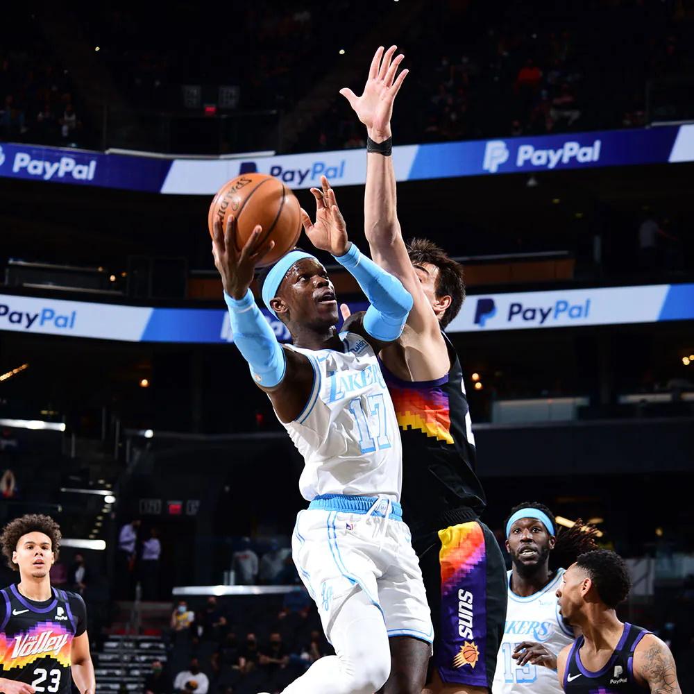 Dennis Schroder, Los Angeles Lakers vs Phoenix Suns