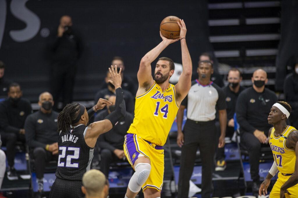 Marc Gasol, Los Angeles Lakers vs Sacramento Kings