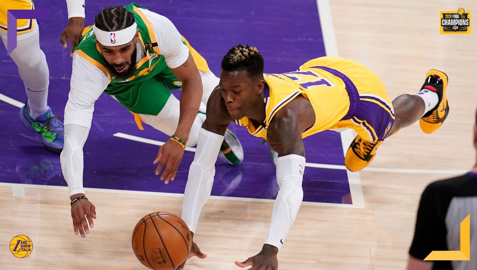 Gli Utah Jazz ritrovano gli assenti e infliggono una sonora lezione ai Los Angeles Lakers. Talen Horton-Tucker unica luce per i Gialloviola.