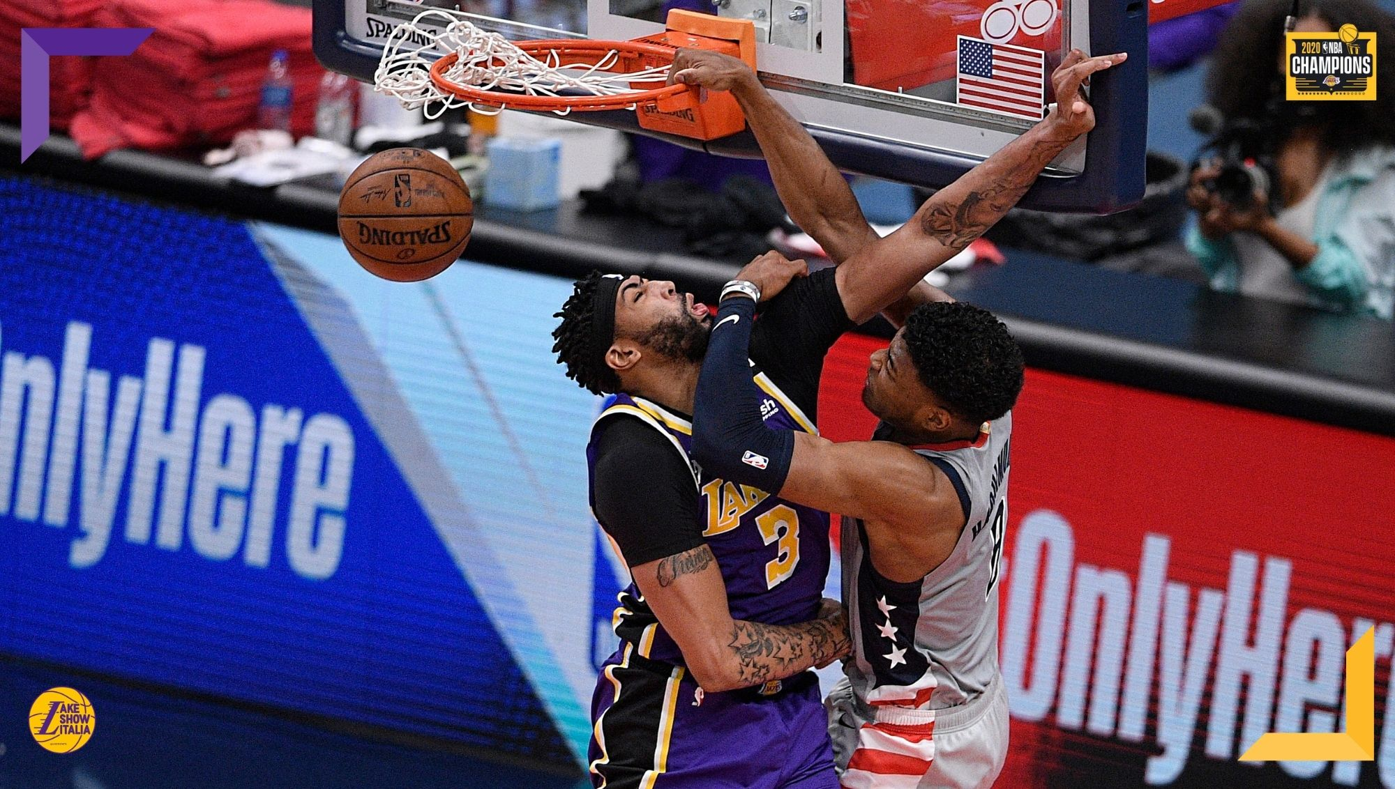 Brutta prova dei Los Angeles Lakers, sconfitti senza appello dai Washington Wizards. Male Anthony Davis, che aggiusta le cifre a gara finita.